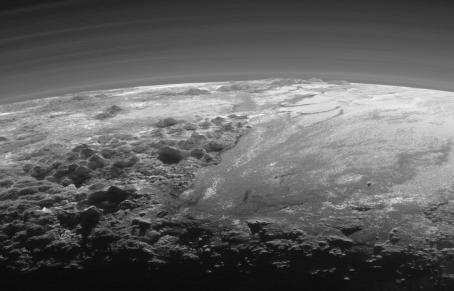 Gorgeous new Pluto image taken by the NASA New Horizons spacecraft.